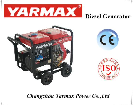 5.0kVA Yarmax Open Diesel Generator with Best Quality pictures & photos