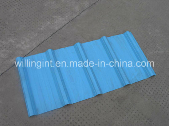 Galvanized Steel Roofing Wall Sheet Roll Forming Machine pictures & photos