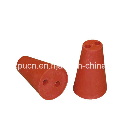 Tapered Silicone Rubber Insert Bung for Vials and Bottle pictures & photos