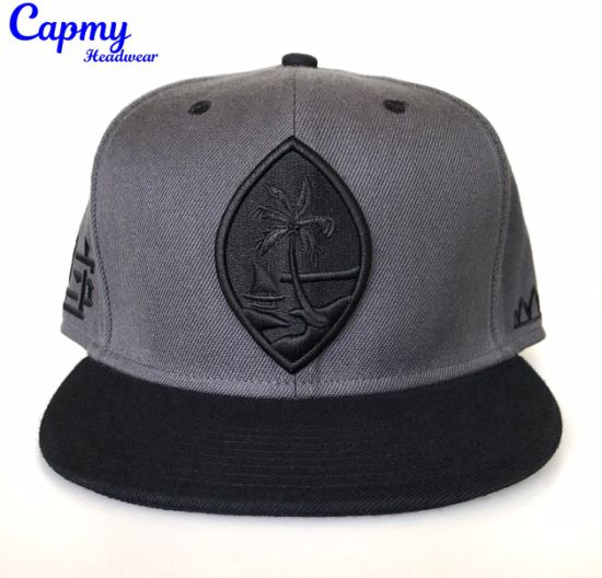 Custom for Big Crown 100% Cotton Snapback Cap pictures & photos