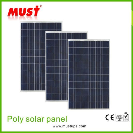 Factory Outlet 300W Poly Solar Panel in Solar System pictures & photos