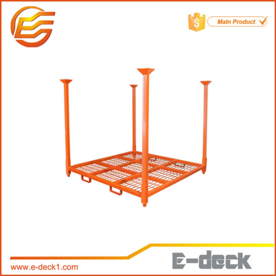 E-Deck Warehouse Storage Steel Metal Stackable Tire Rack pictures & photos