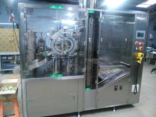 Double Heads Tube Filler and Sealer (Zhf-160) pictures & photos