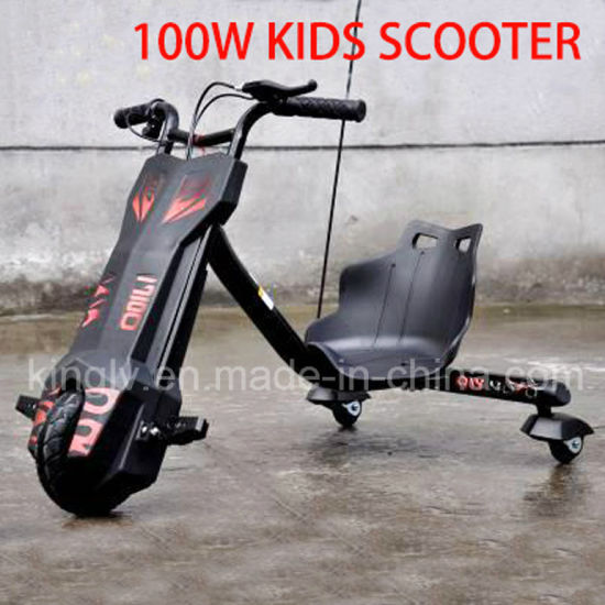 China Supplier Mini Kids Drift Tricycle Electric Soliding Scooter
