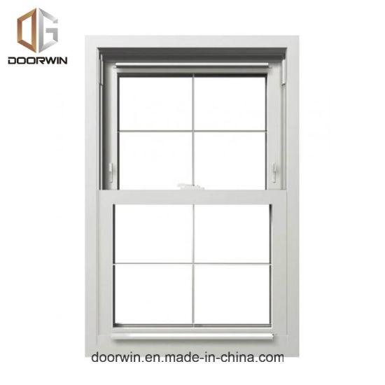 China American Single Hung Thermal Break Aluminum Window Double