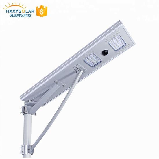 High Quality 40watts Outdoor Motion Sensor Solar LED Street Light