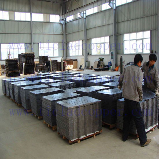 China Lead Anode Plate for Nickel Electrowinning