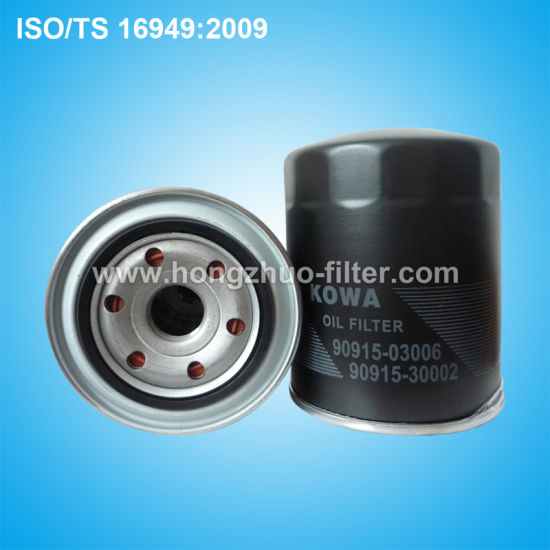 Auto Oil Filter 90915-30002 for Toyota