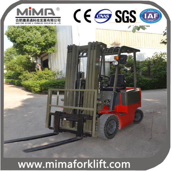 Good Design of 2t Electric Forklift Truck pictures & photos