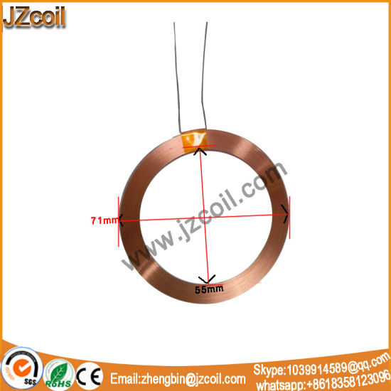China Wearable Coil/Induction Coil for Wearable Wireless