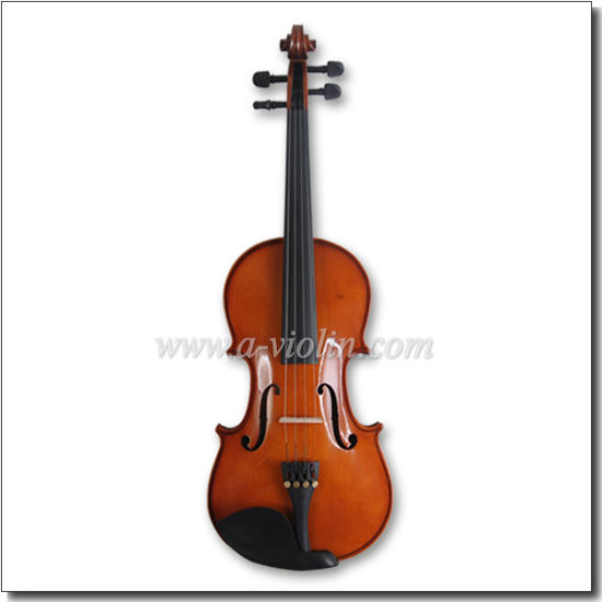 Violin 4/4 Spruce Student Violin Full Size (AVL-17) pictures & photos