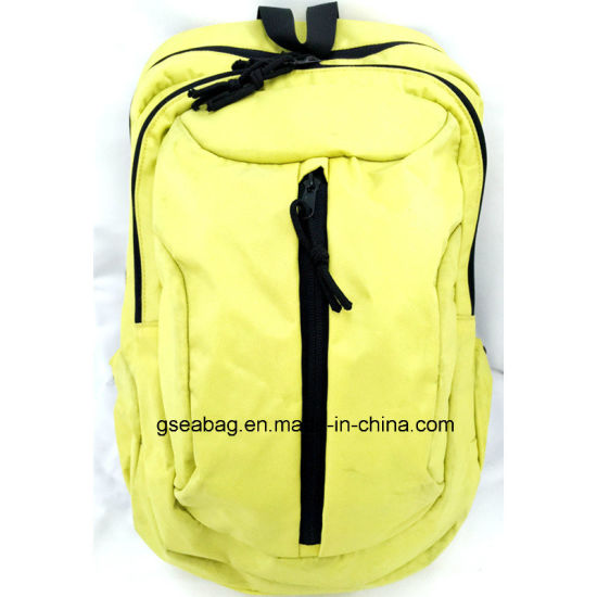 9f7cae211e Polyester Fabric Bag for School Student Laptop Hiking Travel Backpack  (GB 20082)