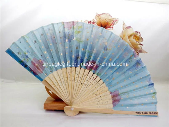 Personalized Oem Foldable Bamboo Fans