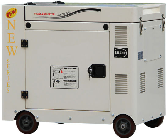 Flip Generator 8kVA Portable Diesel Generator for Home pictures & photos