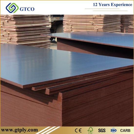 18mm Anti Slip Film Faced Construction Marine Plywood for Formwork