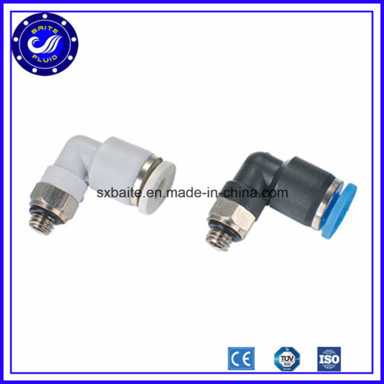 China Elbow Plastic Quick Connect Pneumatic Air Fittings - China