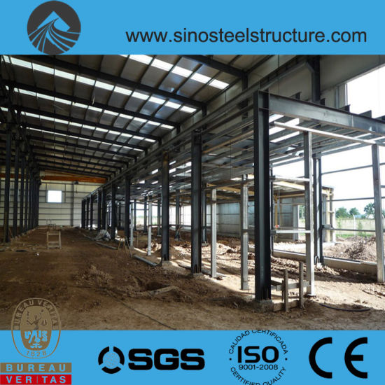 Ce BV ISO Prefabricated Steel Structure Industrial Warehouse (SS-16) pictures & photos