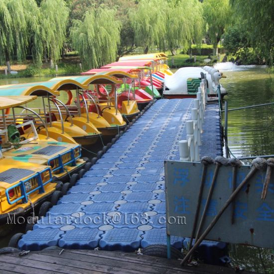 China Plastic Modular Pontoon Dock System