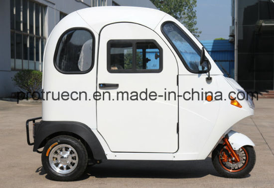 New Electric Mini Tricycle with Full Cabin pictures & photos