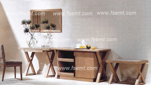 Simple Style Wooden Hotel Bedroom Set (EMT-B0904) pictures & photos
