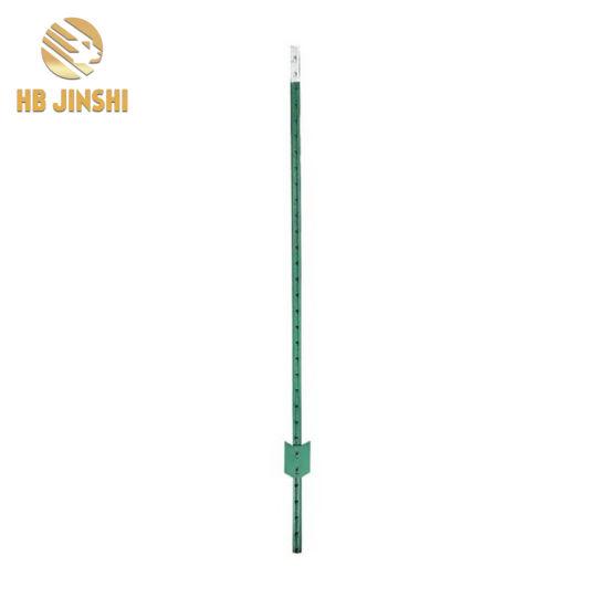 China 095lb FT 6FT Light Duty Powder Coated Metal T Post