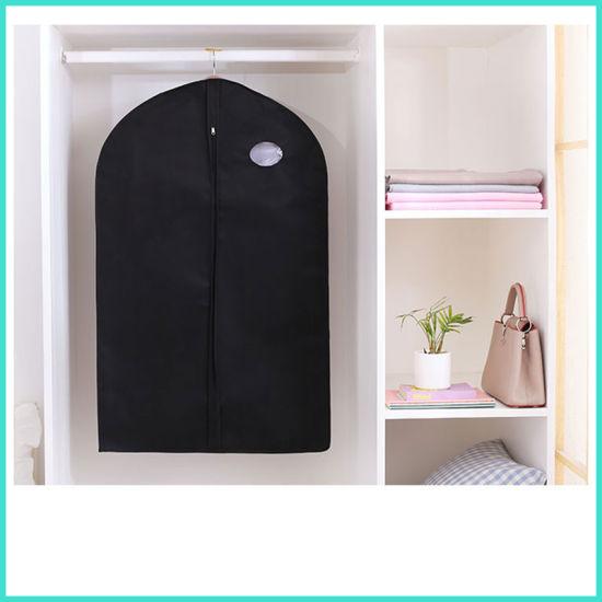 Promotional Black Men Travel Business Dustproof Suit Storage Garment Bag