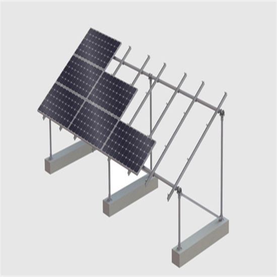 Steel Solar Ground Mounting Structure for PV Mounting Bracket
