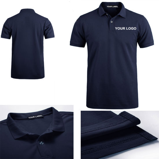 aa9722cf8 Fashion Design Summer Wear 100% Cotton Printing Plain Mens Golf Polo Shirt  with Private Label
