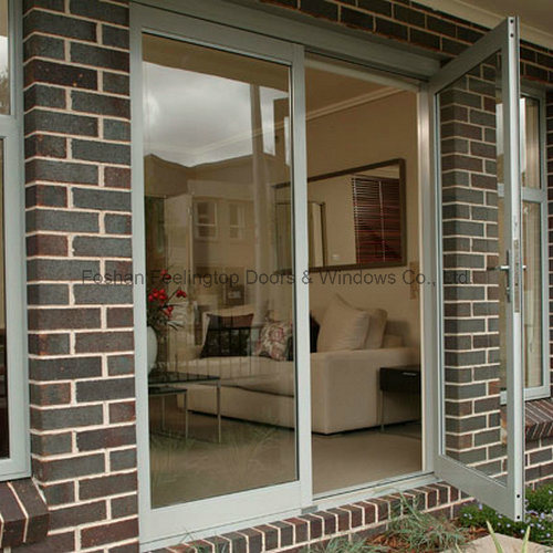 China Latest Design Tempered Glass Security Door For Residential Ft