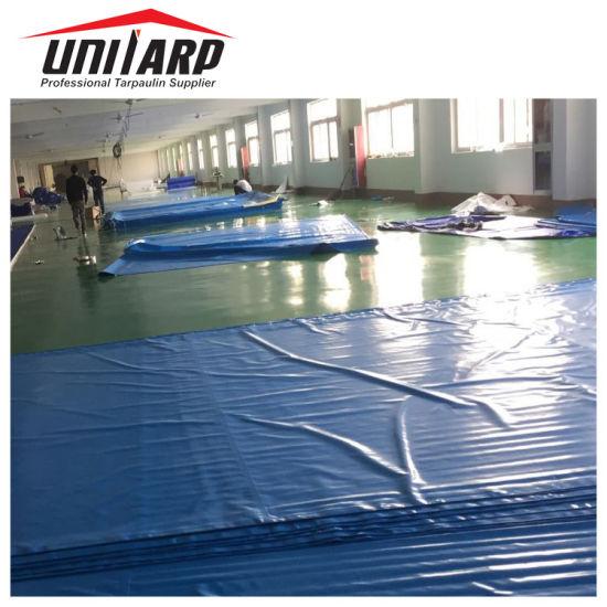 Heavy Duty Waterproof Fire Retardant PVC Viny Coated Tarpaulin Cover Sheet