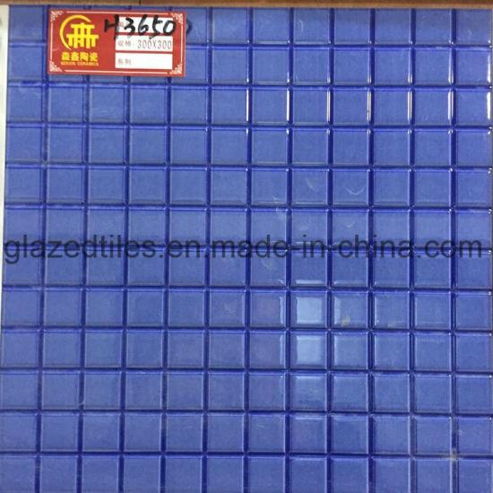 China Mosaic Look Polished Ceramic Floor Tiles For Balcony China