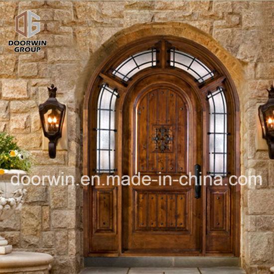 Rustic Series Knotty Alder Exterior Wood Doors Solid Wood Front Door For  House