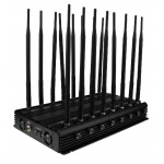 High Power Tabletop WiFi Bluetooth GPS Lojack UHF VHF 3G Phone Signal Jammer, WiFi 3G 4G Cellphone Signal Jammer pictures & photos