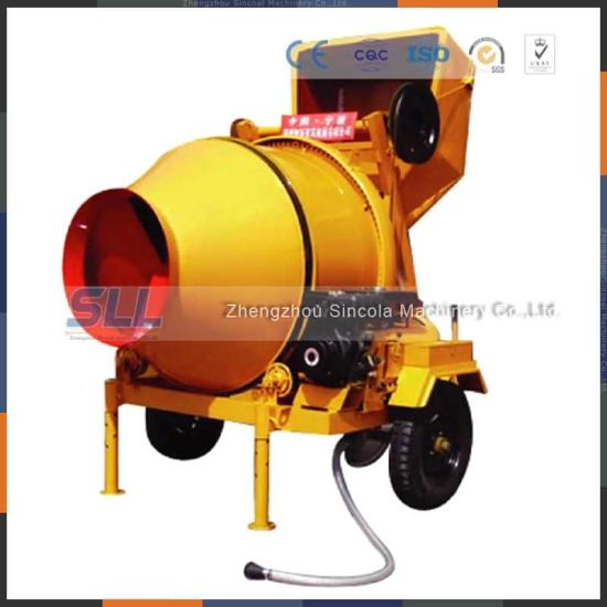 Jzc350 Manual Concrete Mixers/Diesel Machine Price pictures & photos