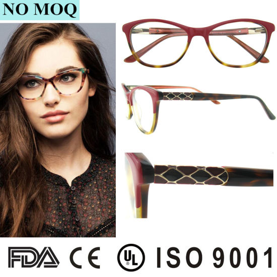 5354e5cc8cdf Newest Design Acetate Optical Frame Full-Rim Frames New Model Eyewear Frame  Glasses pictures