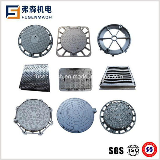 En124 D400 Casting Iron Manhole Cover pictures & photos