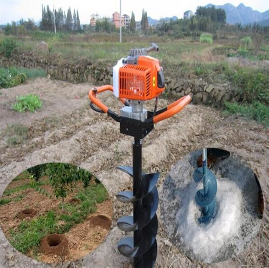 China 52cc Gasoline Tree Planting Earth Auger For Sale China Tree