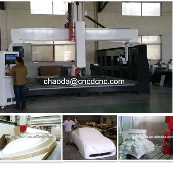 Quality Machine! ! 5 Axis CNC Router, 5 Eksen CNC Router pictures & photos