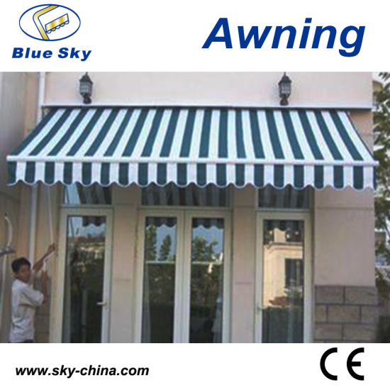 Steel Structure Awning Fabric For Balcony B3200