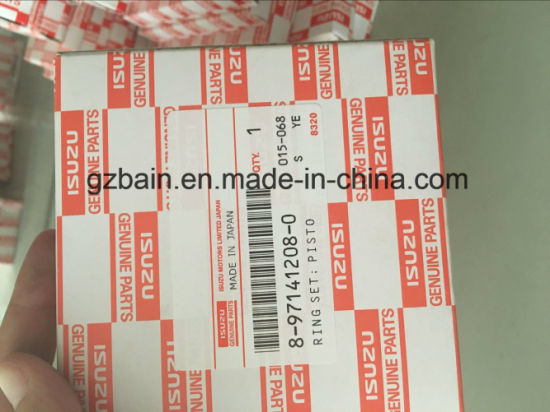China 4le1/E2 Genunie Piston Ring Excavator Engine Spare Part (in