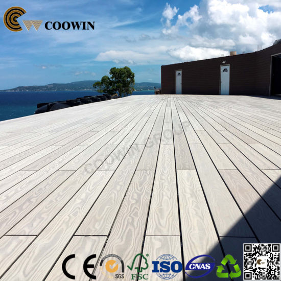 Easy Install Anti-Mildew Anti-Crack Outdoor WPC Composite Decking pictures & photos