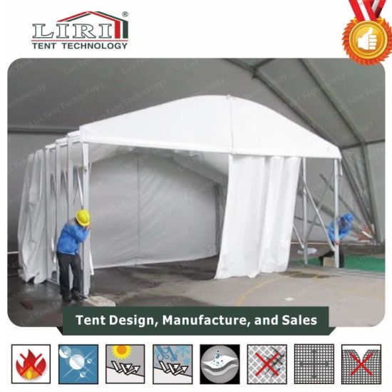 Dome Arcum Arch Tent Push and Pull Sliding Tent for 200 People pictures & photos
