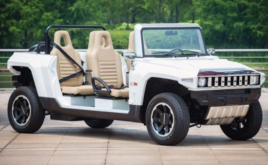 China Marshell New Product 4 Seater Electric Hummer (HX-T Limo ...