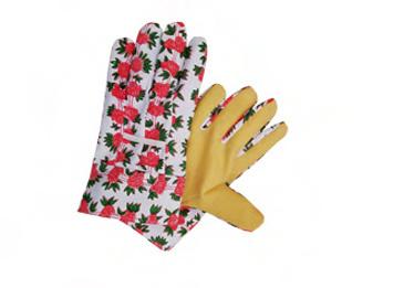 PVC Impregnated Palm Cotton Work Gloves-2701
