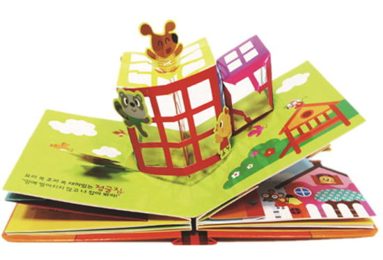 Popular Professional Custom Paper Printing 3D Children Book