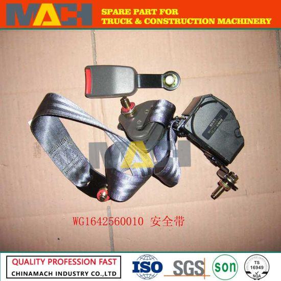 Sinotruk HOWO Truck Spare Parts Seat Belt (WG1642560010)
