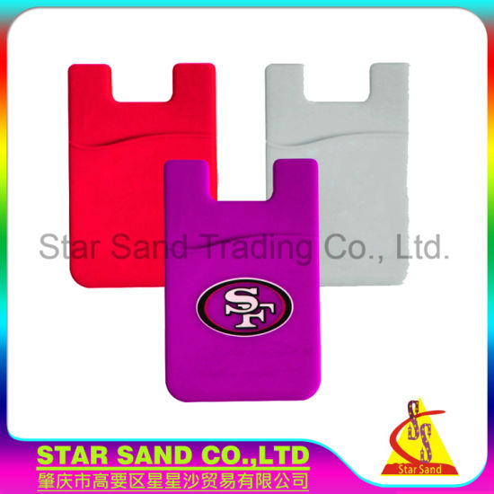 China environmental 3m sticker silicone business card phone stand environmental 3m sticker silicone business card phone stand holder wallet colourmoves