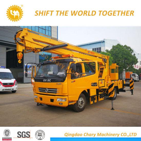 14m Truck Mounted Aerial Work Platform /High Altitude Work Truck