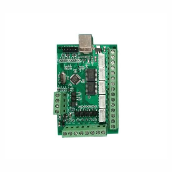 China 5 Axis Mach3 CNC Breakout Board 1000kHz USB Motion