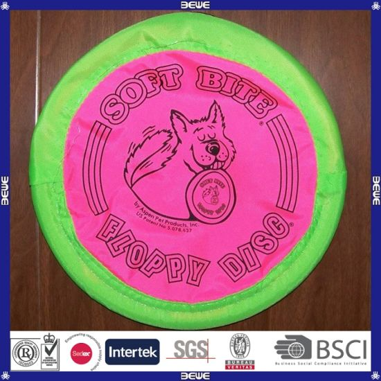 Brand New Promotional Colorful Nylon Foldable Frisbee pictures & photos